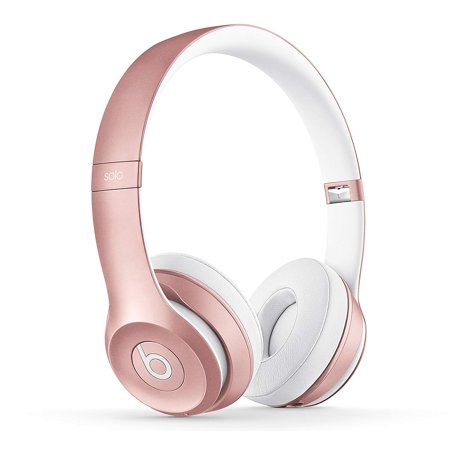 Beats by Dr. Dre Beats Solo3 Wireless On-Ear Headphones - Rose Gold (Gold Beats Wireless)