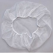 ACTION CHEMICAL A-NH-24-W Hairnet,White,Universal,PK1000