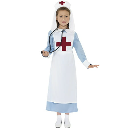 WW1 Nurse Child Costume - Child's Nurse Costume