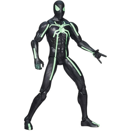 Marvel Infinite Series Big-Time Spider-Man Figure](Black Spider Man)