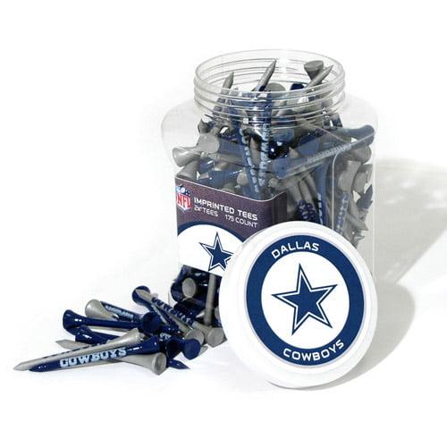 Team Golf NFL Dallas Cowboys Jar Of 175 Golf Tees