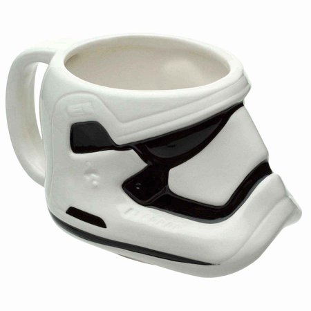 Star Wars: The Force Awakens Stormtrooper Sculpted Ceramic Mug (Sculpted Ceramic)