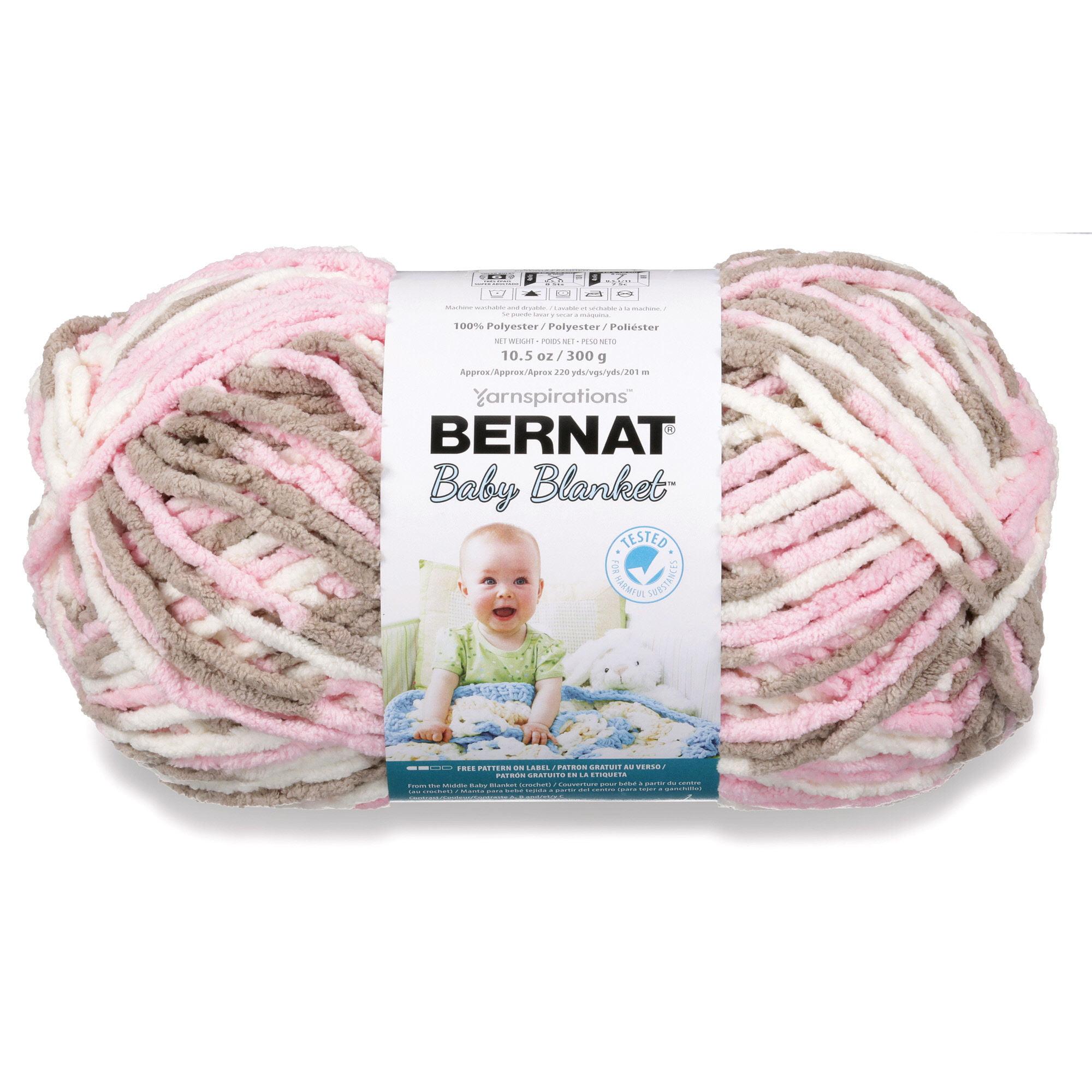 Bernat Baby Blanket Big Ball Yarn - Walmart.com