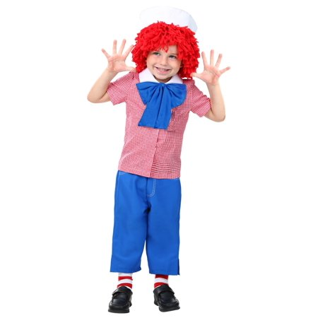 Toddler Raggedy Andy Costume - Raggedy Andy Costume Toddler