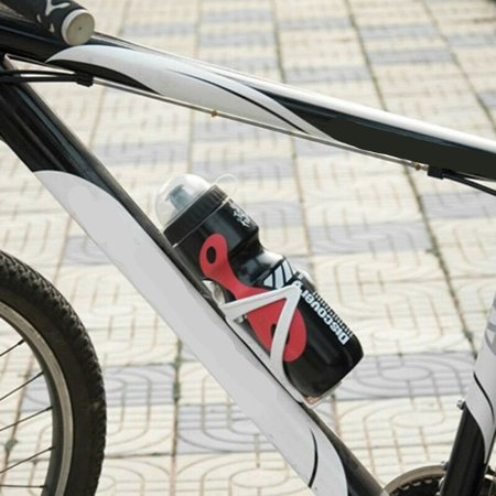 650ml Mountain Bike Bicycle Cycling Water Drink Bottle + Holder Cage - image 8 of 10