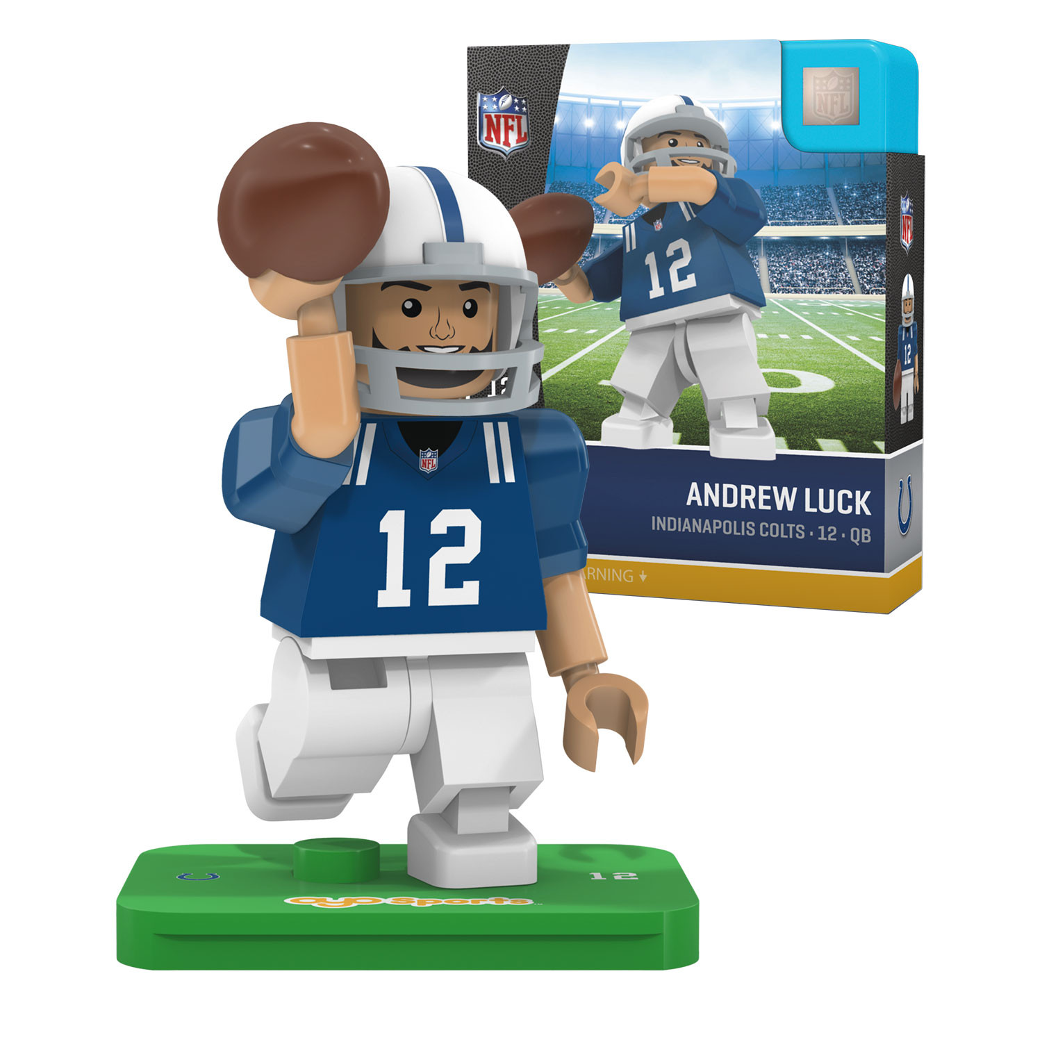 Andrew Luck Indianapolis Colts Official NFL Limited Edition Minifigure by Oyo 061634