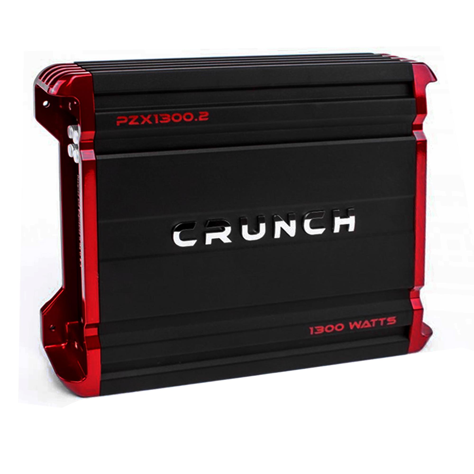 Crunch PZX1300.2 1300W 2-Channel Powerzone Series Class AB Car Amplifier