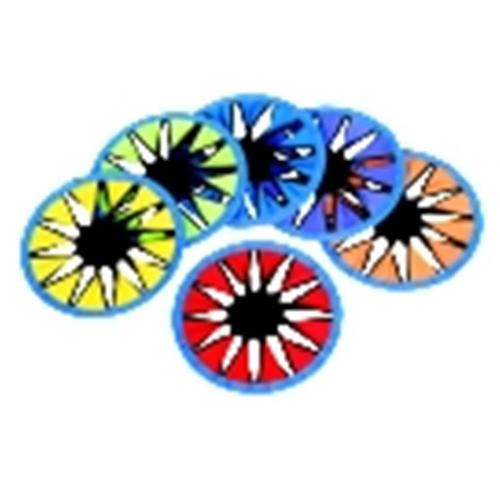 Sportime Colortwist Flying Discs, Set - 6