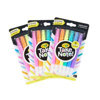 Crayola Take Note! Erasable Highlighters, 18 Count