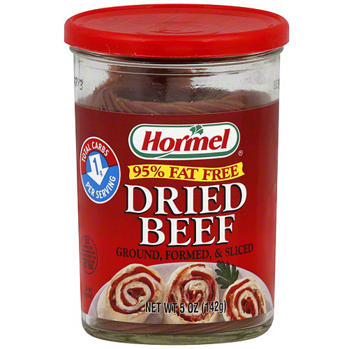 Hormel Sliced Dried Beef, 5 oz (Pack of 12)