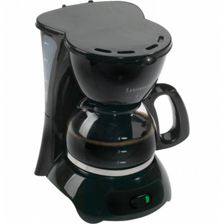 One Cup Electric Coffee Maker : CONTINENTAL ELECTRIC CE23659 4 CUP COFFEE BLK- CE23589 - Walmart.com