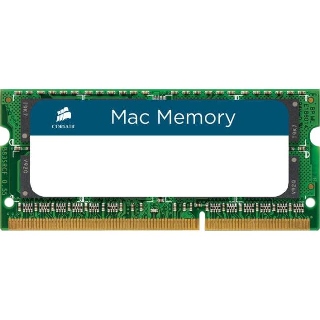 Corsair 4GB DDR3 SDRAM Memory Module - 4 GB (1 x 4 GB) - DDR3 SDRAM - 1333 MHz DDR3-1333/PC3-10666 - 204-pin - SoDIMM