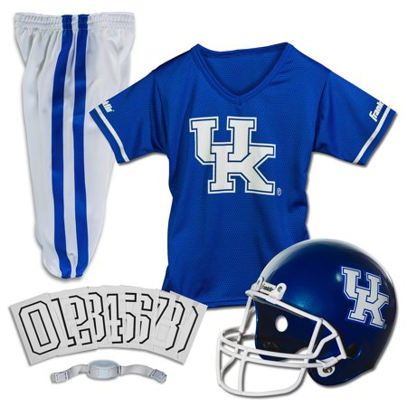 Kentucky Wildcats Basketball Jersey - Franklin Sports NCAA Kentucky Wildcats Uniform Set, Medium