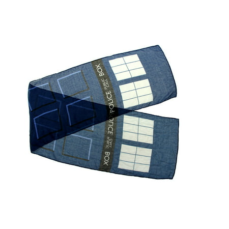 Doctor Who TARDIS Lightweight Adult Costume Scarf (Tardis Costume Ideas)