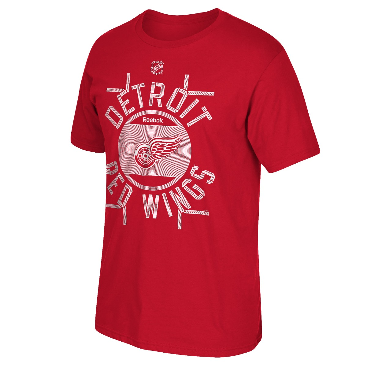 "Detroit Red Wings Reebok NHL ""Skate the Circles"" Men's T-Shirt by Reebok"