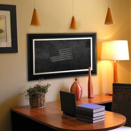 Rayne Mirrors B5448 5 72 5 American Made Grand Black And Aged Silver Blackboard Chalkboard 55 X 79 In