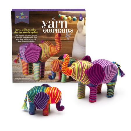 Craft-tastic Yarn Elephants - Elephant Crafts