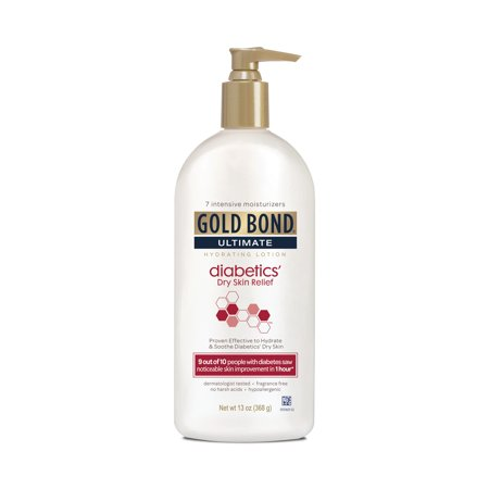 Gold Bond Ultimate Diabetics' Dry Skin Relief Lotion 13oz Care Products Gel Body Lotion