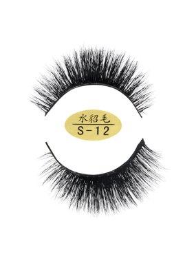 5ebb7f24a0b Product Image Natural 3D Eyelashes 100% faux Mink Hand-made False Lashes  Soft 1 Pair