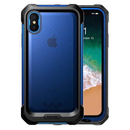big sale c71c7 7ed17 SUPCASE iPhone X, iPhone Xs Case, SUPCASE [Unicorn Beetle Storm] Waterproof  Full-Body Rugged Case with Built-in Screen Protector for Apple iPhone X ...