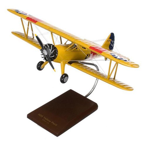 Daron Worldwide Boeing N2S-2/3/4 Stearman Yellow Peril Model Airplane