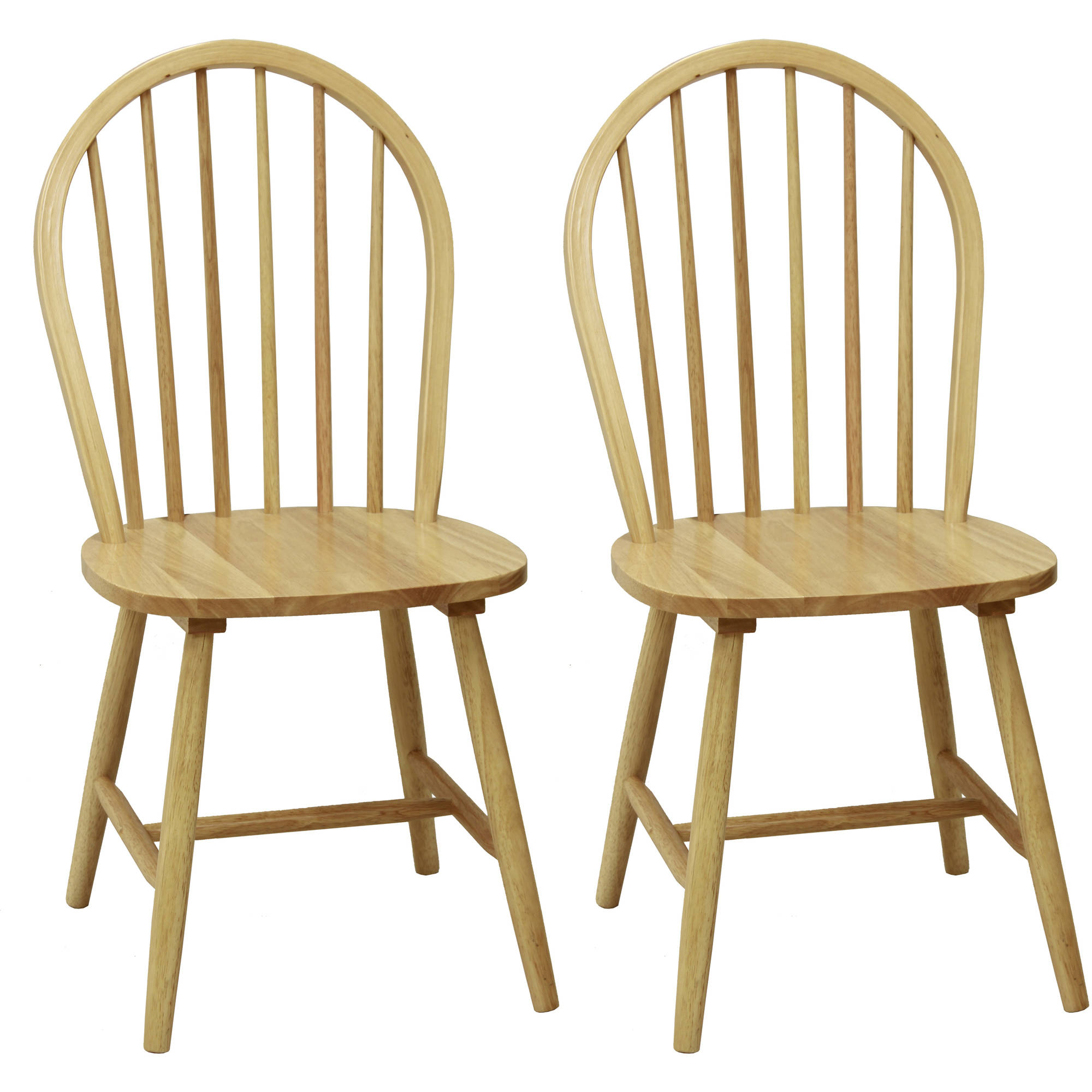 Mainstays Windsor Dining Chairs, Set of 2, Natural Finish by Cheyenne Products