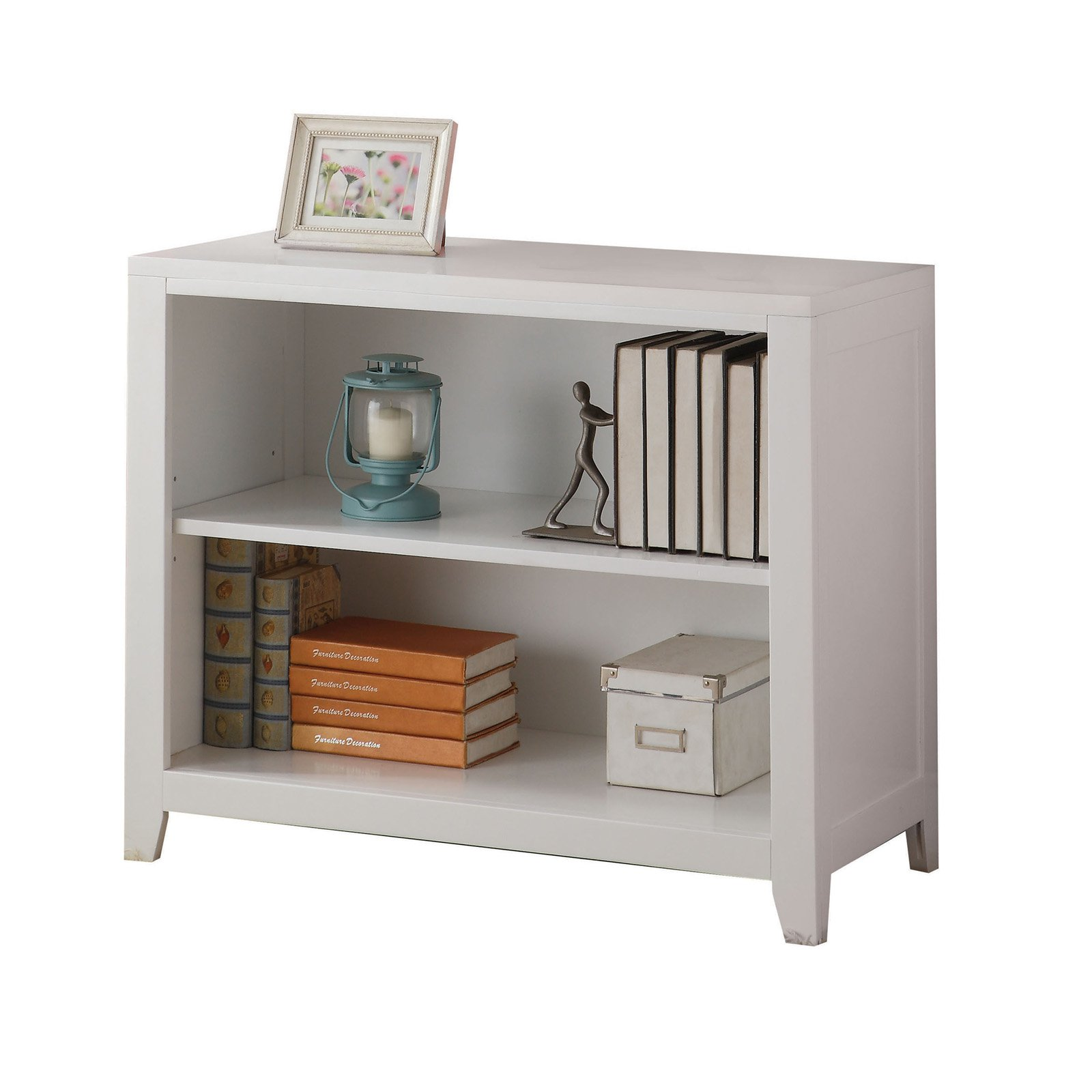 Acme Lacey Bookcase, White