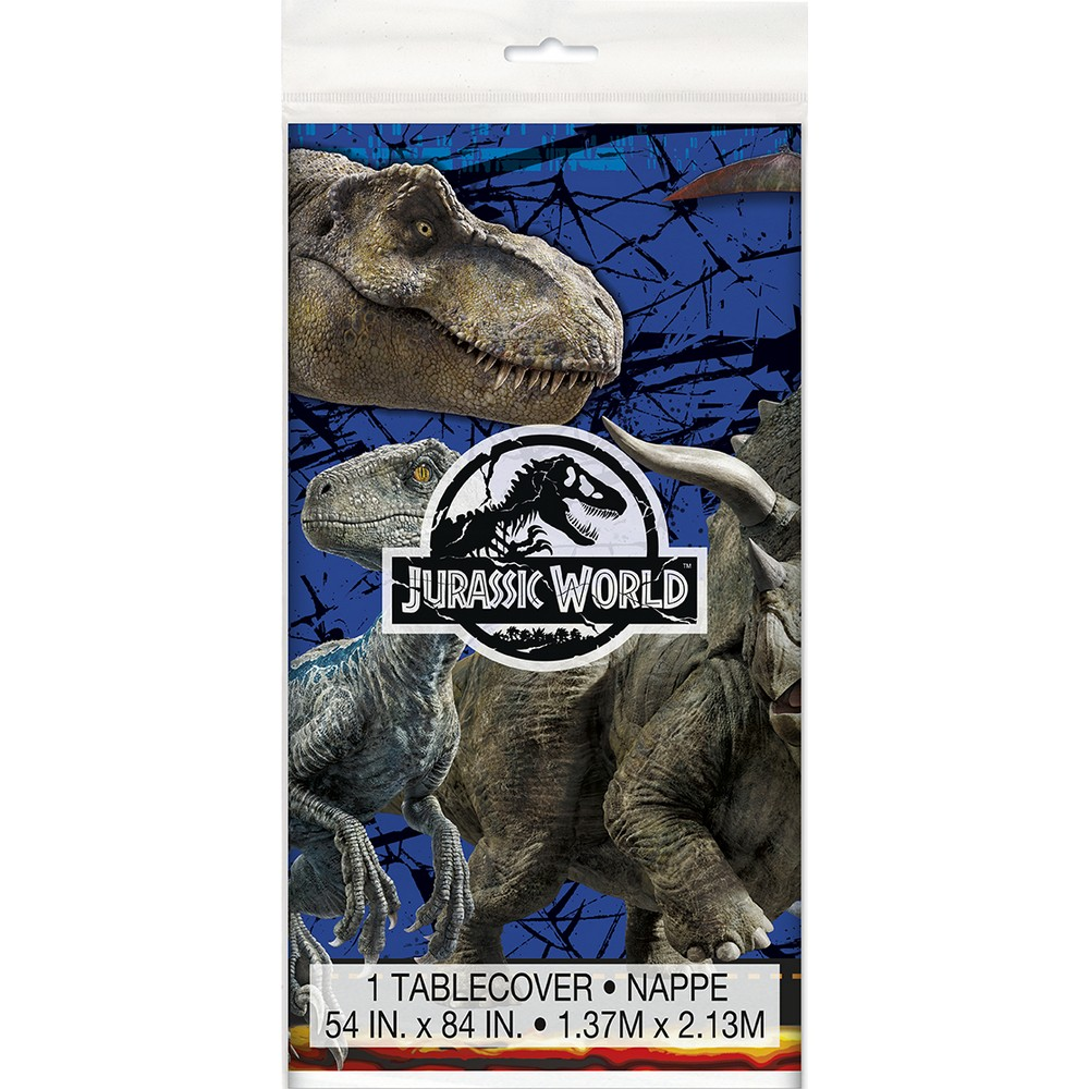 Jurassic World Fallen Kingdom Party Supplies Tablecover