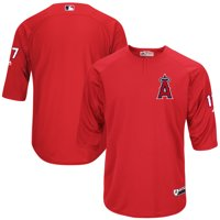 Shohei Ohtani Los Angeles Angels Majestic Authentic On-Field Player Batting Practice Jersey - Red