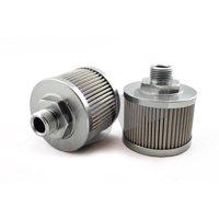 DeatschWerks Stainless Steel 8AN 100 Micron Universal Fuel Pump Pre-Filter