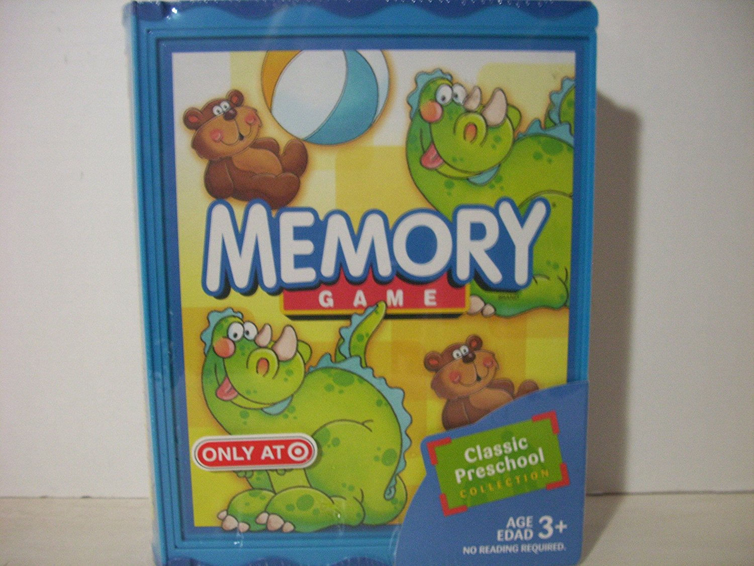 Memory Game Book Series, The classic preschool game of Memory comes in a collectible... by