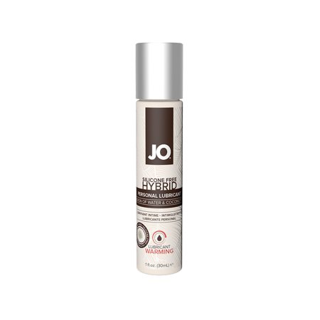 JO Silicone Free Warming Hybrid Water & Coconut Oil  Lubricant - 1 (Coconut Oil As A Lubricant For Intercourse)