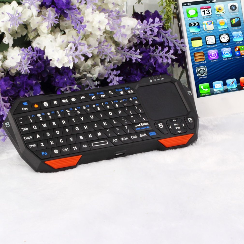 Mini Wireless 3.0 Keyboard Mouse Touchpad for Windows for Android for iOS built-in reable battery
