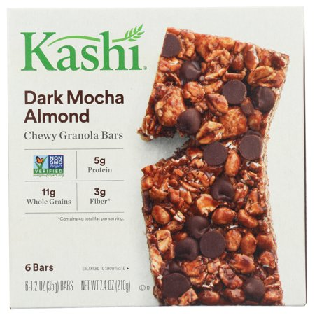 Kashi Dark Mocha Almond Granola Bars, 6 Pack