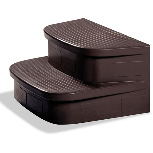 LifeSmart Spa Steps, Mahogany