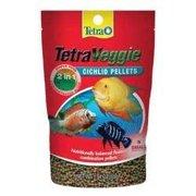 Tetraveggie Cichlid Pellet Fish Food Size: Small / 1.94 oz. TSN77213 UPG- AQUATICS (TETRA)