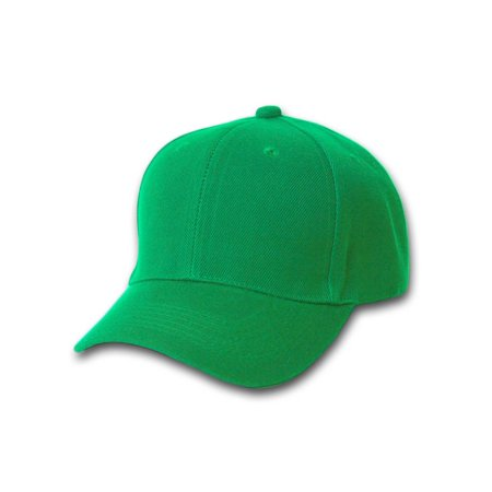 Top Headwear Baseball Cap Hat- Kelly Green - image 1 de 1