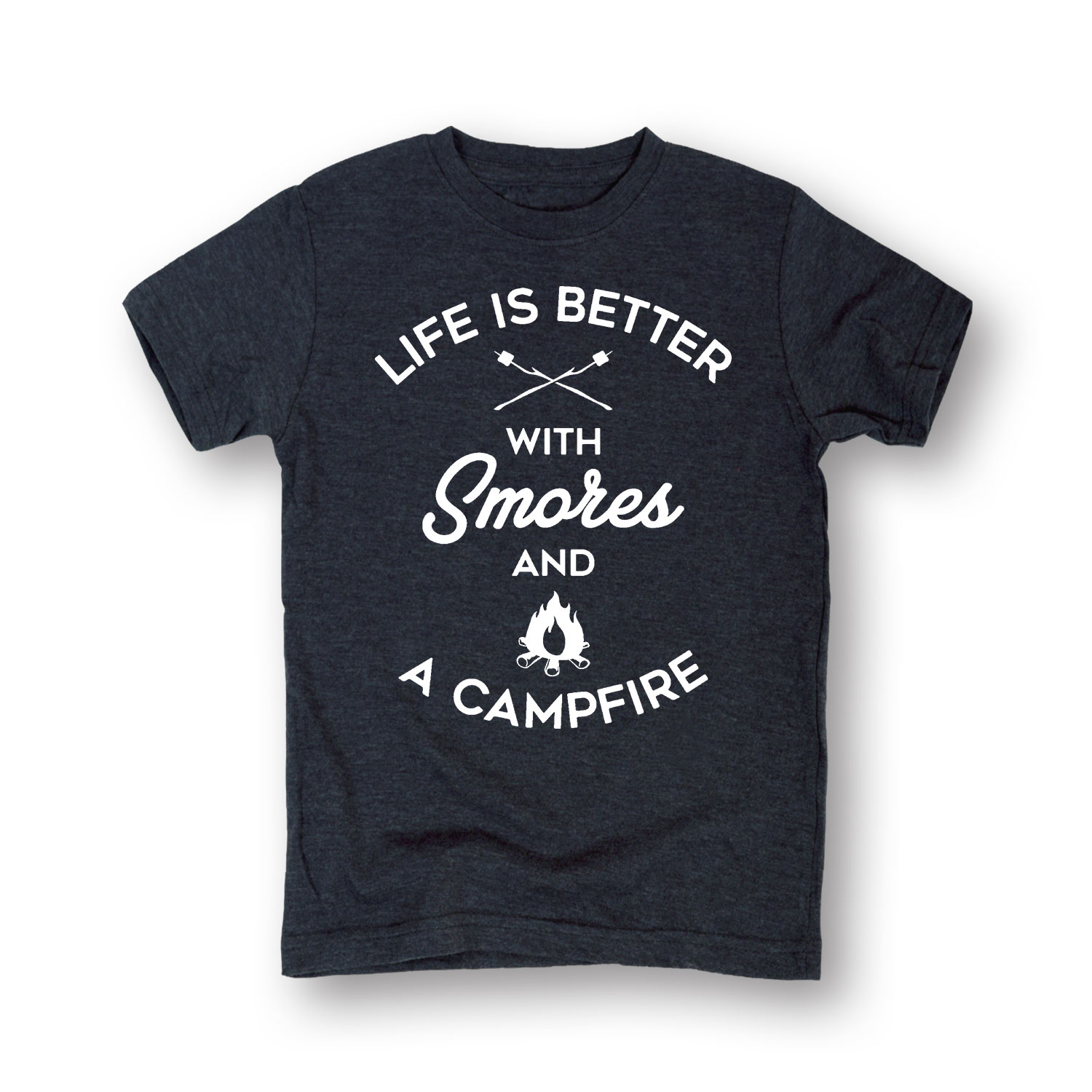 Smores And A Campfire - Toddler Short Sleeve Tee