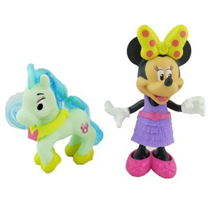 Pink And White Minnie Mouse (Disney Minnie Mouse Jump 'n Style Pony - Replacement Minnie & Pony Toy)
