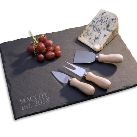 Personalized Slate Serving Tray