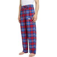 Men's Blue/Red New York Rangers Ballot Flannel Lounge Pants