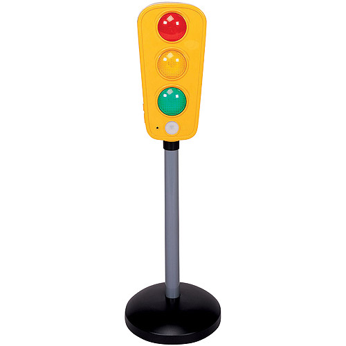 Pavlov'z Toyz Motion-Activated Talking Traffic Light
