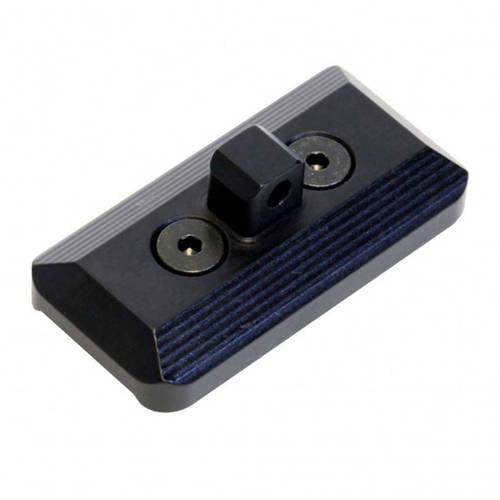 Ergo Grip KeyMod Bipod Mount, Fits Harris Style Bipods, Black
