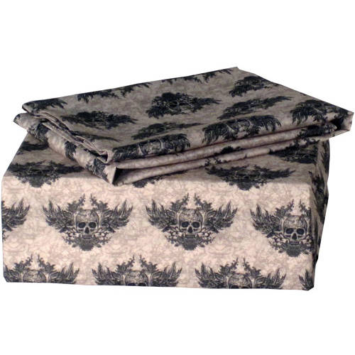 Winged Skull Polyester Sheet Set