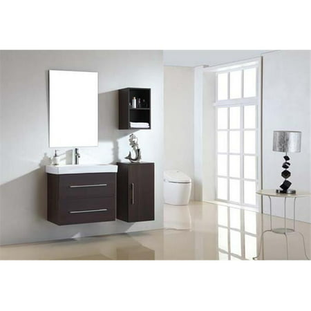 Dawn Kitchen RESC131327-05 Mdf And Melamine In Walnut Finish Side Cabinet With Shelf Inside - image 1 of 1