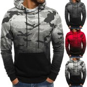 Hot Mens Winter Hoodie Warm Hooded Sweatshirt Coat Jacket Outwear Sweater Fashion