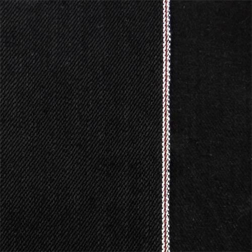 Black Cotton Selvedge Denim, Fabric By the Yard