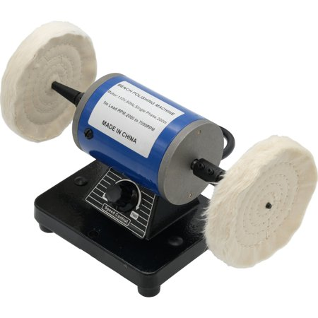 Bench Lathe Mini 110 Volt Dental & Jewelry Polishing Motor w/ 2 Tapered  Spindles