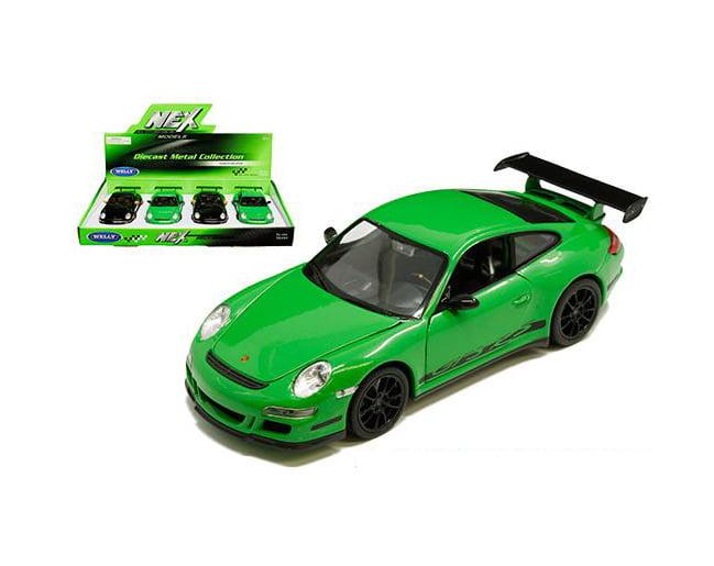 GT3 RS BLACK 1:24 DIECAST CAR MODEL BY WELLY 22495 PORSCHE 911 997