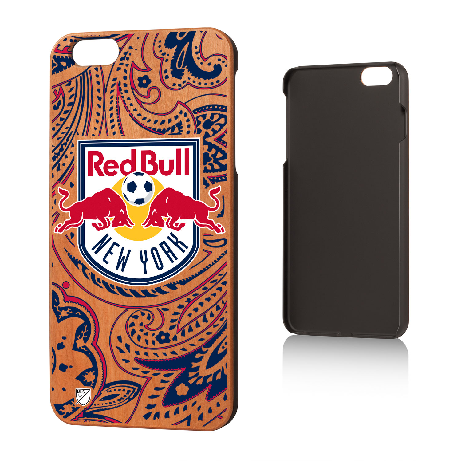 New York Red Bulls RED BULLS Paisley Cherry Case for iPhone 6 Plus
